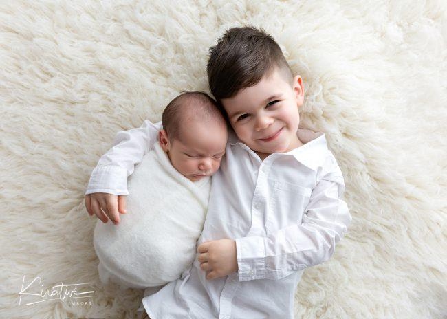 Gungahlin Newborn Photography - Gungahlin Sibling Session
