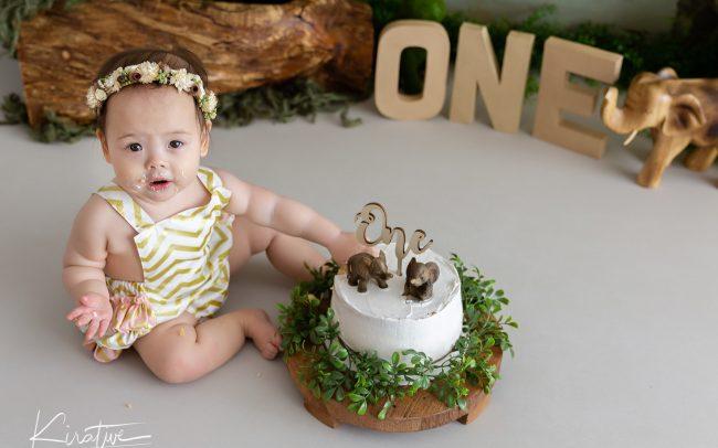 Canberra Cake Smash 1st Birthday - Canberra Photography